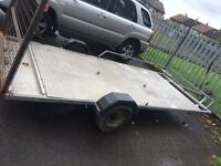 Quad and bike trailer for sale with ramp!!