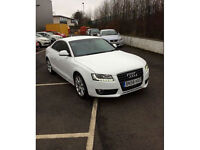 2008 58 Audi A5 2.7 TDI Sport AUTOMATIC TIPTRONIC COUPE DIESEL FSH LEATHER LED's