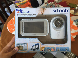 Baby Monitor vtech Safe  Sound Full color video monitor