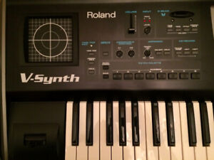 Roland V-Synth Synthesizer with Carrying Case