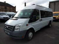 Ford Transit T430 115PS LWB RWD 17 SEAT MEDIUM ROOF (white) 2011