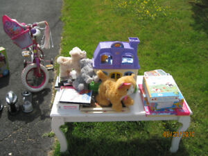 Kid toys & books yard sale-everything needs to go