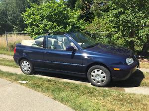 2001 Volkswagen Cabrio Convertible