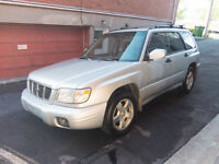 2001 SUBARU FORESTER S LIMITED AWD AUTOMATIC COMPACT SUV