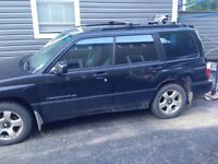 2001 Subaru forester for parts or repair