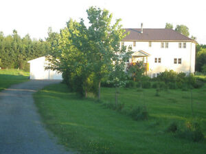 Country Living on Peaceful Private 5.95 Acres in South Stormont