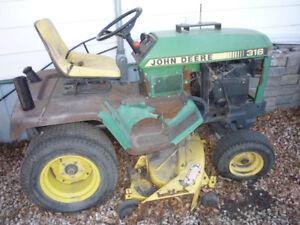 Misc, Lawn Tractors and Snowblowers