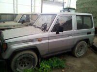 Five - 1990 Toyota Land Cruiser SUV, Crossover, BJ71, LJ73, LJ70