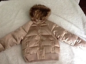 Size medium old navy gold down filled coat