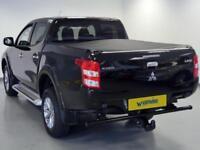 2017 Mitsubishi L200 Double Cab DI-D 178 Titan 4WD Diesel black Manual