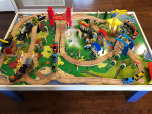 Thomas the Train table - Trains, tracks, & other accessories
