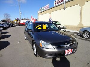 2007 Honda Accord SE Sedan E-TESTED & CERT