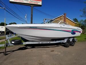 TRADES WELCOME  BOW RIDER 26 FT 502 MERCRUISER
