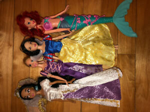Lot de princesses Disney