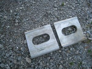 Trailer strapping plates