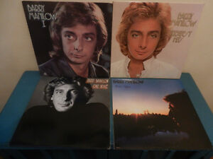 Vinyl Records Barry Manilow Lot of 6