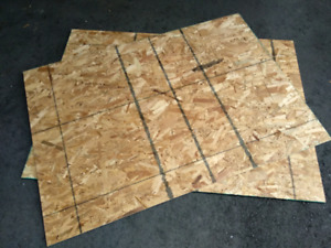 Plywood Sheets Cut to LUROY Slats Size (Article: 302.927.85)