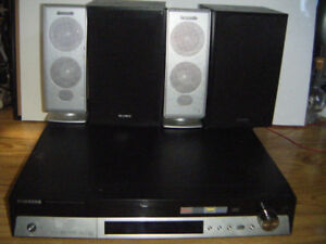 Samsung 5 Disc Dvd Home Theater System    .