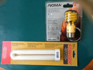 """ Bug "" Bulbs and low voltage garden light bulbs"