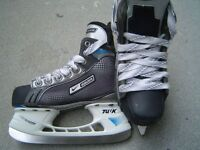 Bauer Supreme Comp ice skates, size 1 EE, for shoe size 2
