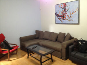 Fully furnished apartment all included (4 bedrooms) 5 min metro