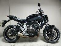 2014 14 Yamaha MT-07 Purple