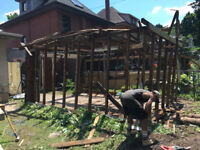 Deck removal - pool removal - shed removal - fence disposal