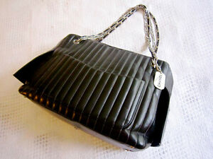 Chanel Black Lambskin Large Mademoiselle Tote Bag North Shore Greater Vancouver Area image 4