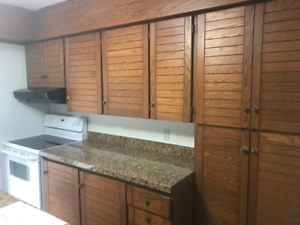 APPLIANCES, COUNTERS AND CABINETS FOR SALE!