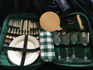Backpack Picnic Set - perfect for a sunny afternoon adventure!