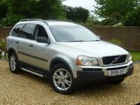 2005 05, Volvo XC90 2.4 Geartronic D5 SE 7 SEATER ++ SAT NAV + HEATED LEATHER