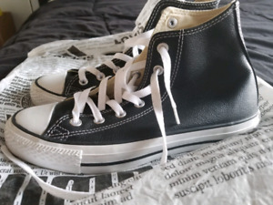 Black & White All Star Converse