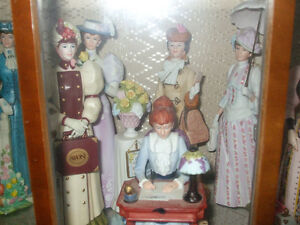 Avon Collectables Mrs. Albee Figurines