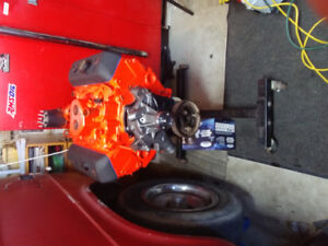 4.3. Complete Chevy engine with 76,000 km