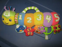 LeapFrog Baby Counting Pal Plush Caterpillar