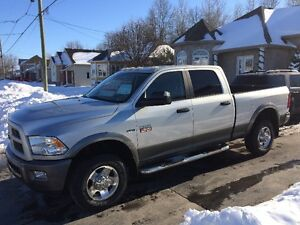 2012 Ram 2500 Outdoorsman 83000km avec  attache selette