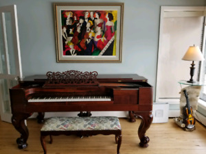 Steinway & sons rosewood grand piano