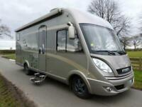 Hymer B674SL A class 4 berth rear single beds motorhome for sale Ref 143768