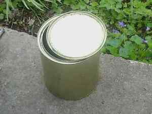 Gold Tin Cans with lids (125 )