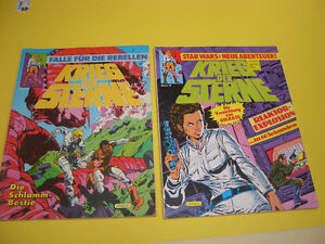 LOT OF 8 GERMAN COMICS SUPERMAN AND STAR WARS 1980'S London Ontario image 6
