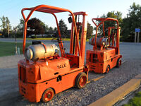 2 handy little forklifts for sale.