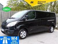2017 Ford Transit Custom 290 Limited Low Roof LWB A/C EURO 6 LWB Panel Van Diese