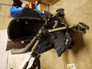 Recliner and Reverse Baby jogger