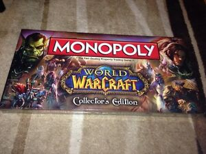 Monopoly world of warcraft collectors edition NEW