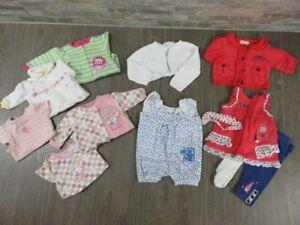 Lot Vêtements été fille 3 mois - Krickets, Tagou