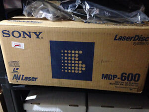 Rare Sony MDP-600 Laser Disc Player Double Sided Karaoke