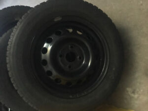 Nordic Winter tires with Rims 185/65R14