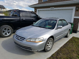 2002 Honda Accord Sadan Sedan