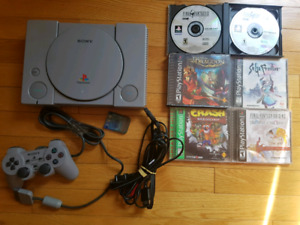 Playstation 1 PS1 with RPGs