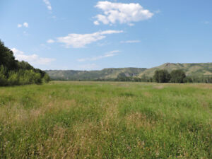 Beautiful Ranch on the Peace River across from Fort St. John